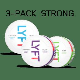 LYFT Strong 3-pack
