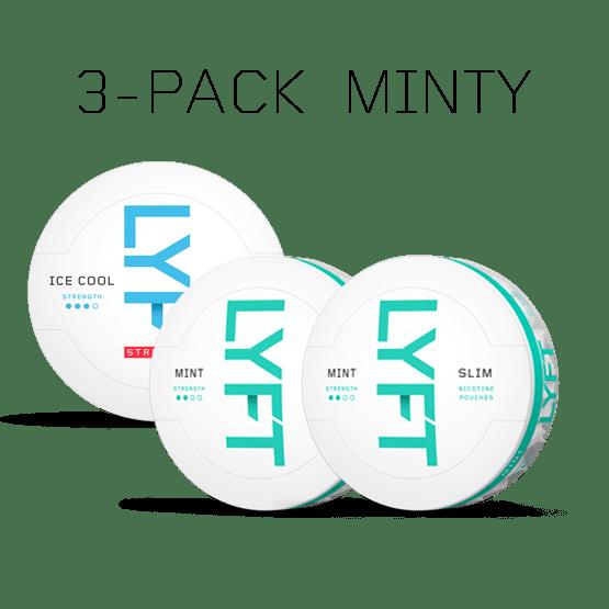LYFT Minty 3-pack