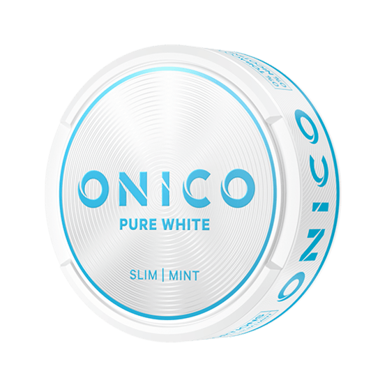 Onico Pure White Slim Nikotinfritt Snus