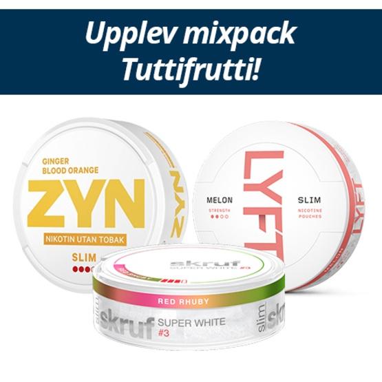 Mixpack Tutti Frutti