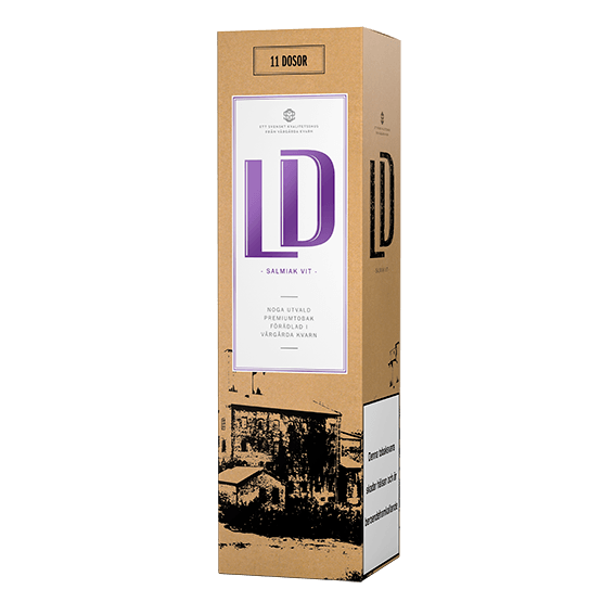 LD Salmiak Vit Portion 11-pack