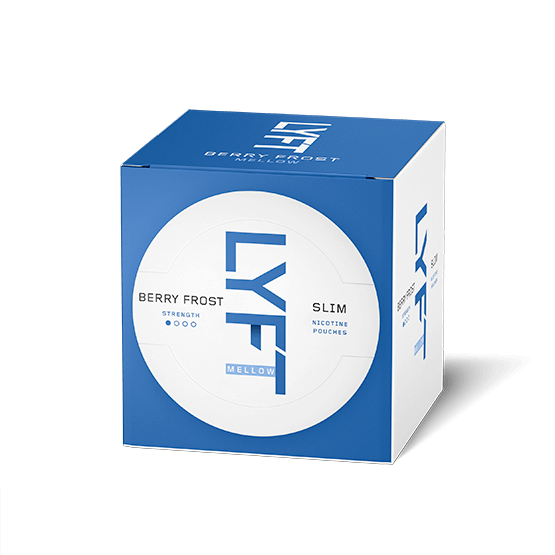 LYFT Berry Frost Mellow Slim 3-pack