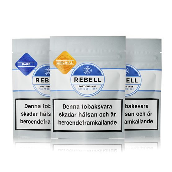 Swedsnus Mixpack Rebell Portion