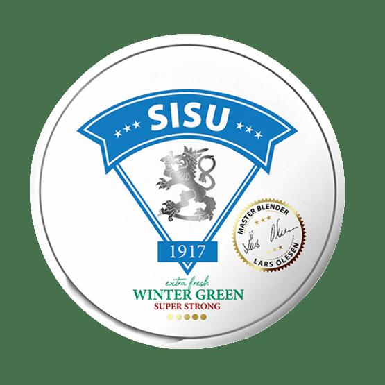 Sisu 1917 Fresh Wintergreen Vit portion
