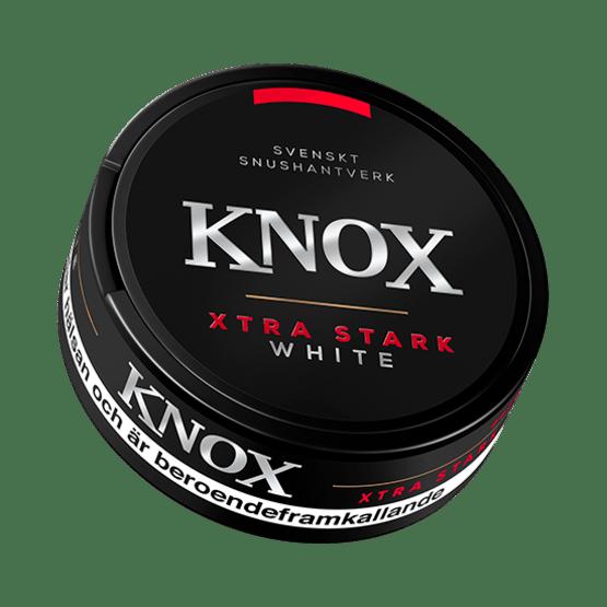 Knox Xtra Stark Vit portionssnus
