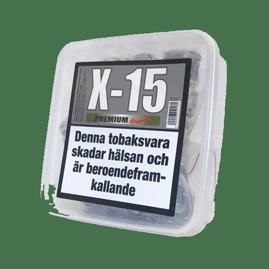 X15 Premium Original Stark Portionssnus