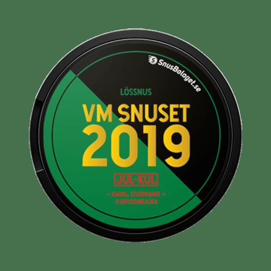 VM-Snuset 2019 Jul-kul Lössnus