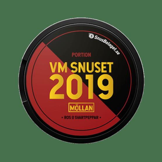VM-Snuset 2019 Möllan Vit Portionsnus