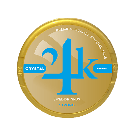24K Crystal Extra Strong White Portion
