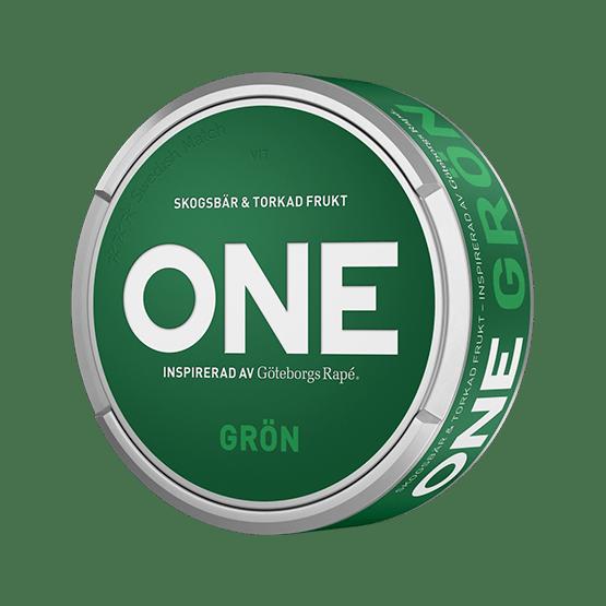 ONE Grön White Portion