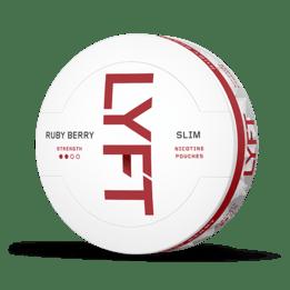 LYFT Ruby Berry Slim All White Portion