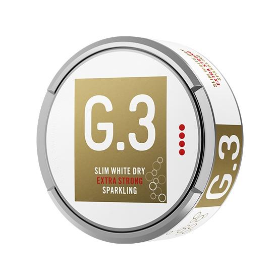 G.3 Sparkling Slim White Dry Portion