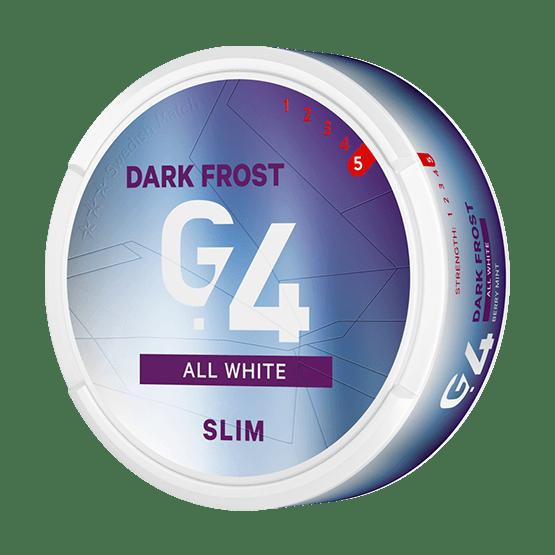 General G.4 Dark Frost Slim All White Portion