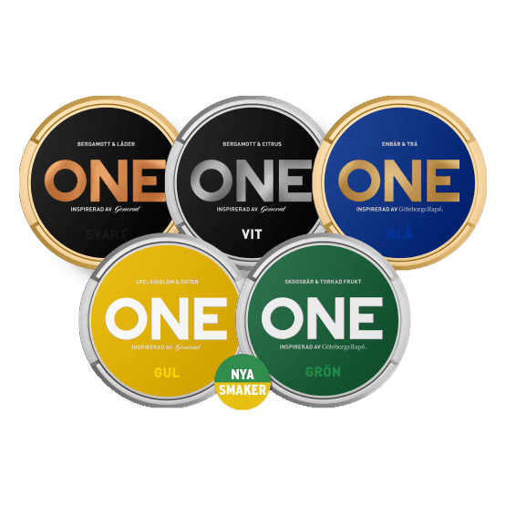 Nya One Mixpack Portionssnus