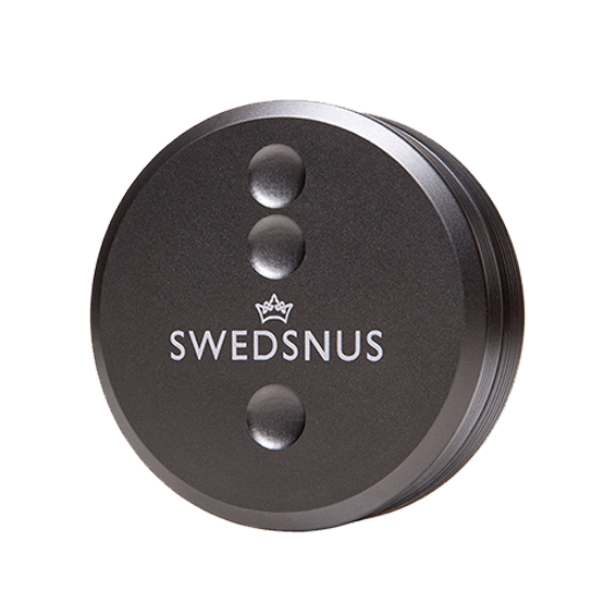 Swedsnus Metalldosa Grå
