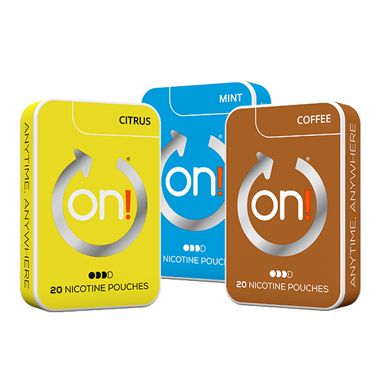 On! Mint, Citrus & Coffee 6 mg Mixpack
