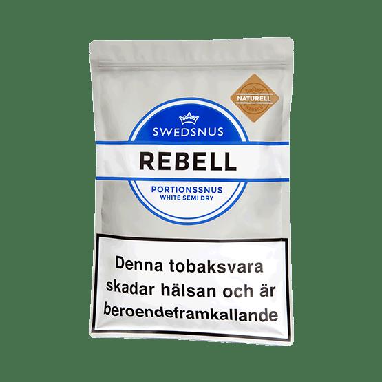 Swedsnus Rebell Naturell 400 – Snusa Direkt!