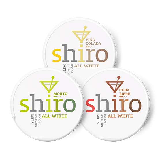 Shiro Cocktail Mixpack All White Portion