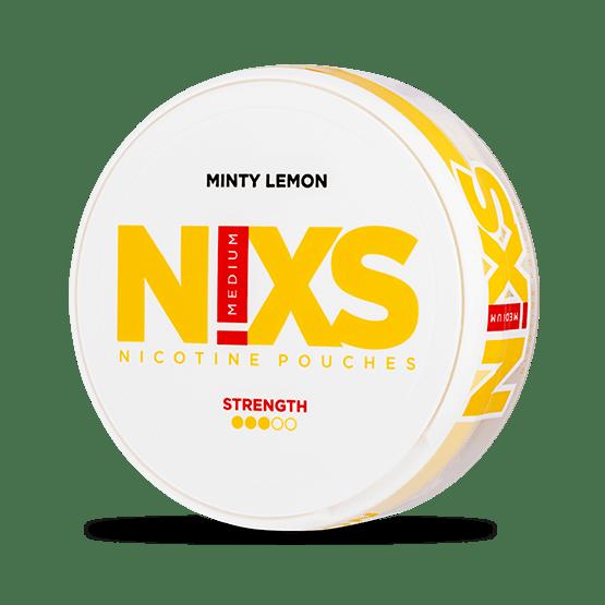N!xs Minty Lemon All White Portion