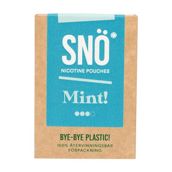 SNÖ Mint All White Portion