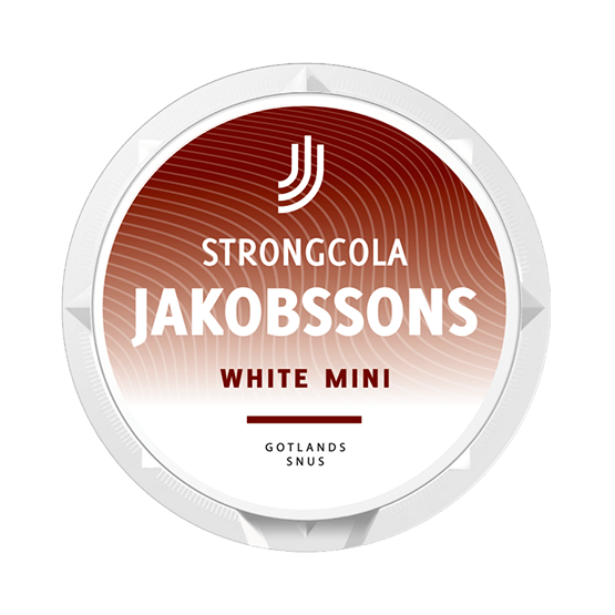 Jakobssons Strong Cola White Mini
