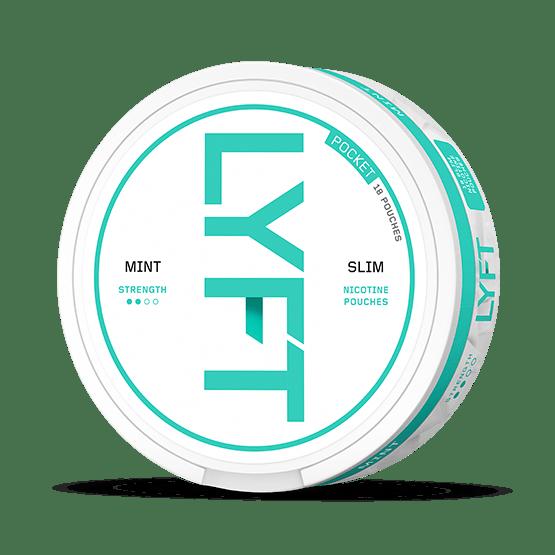 LYFT Pocket Mint Slim All White Portion