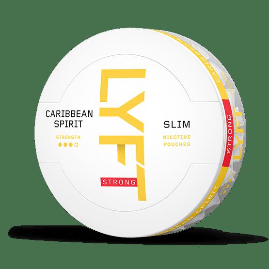LYFT Caribbean Spirit Strong Slim All White Portion