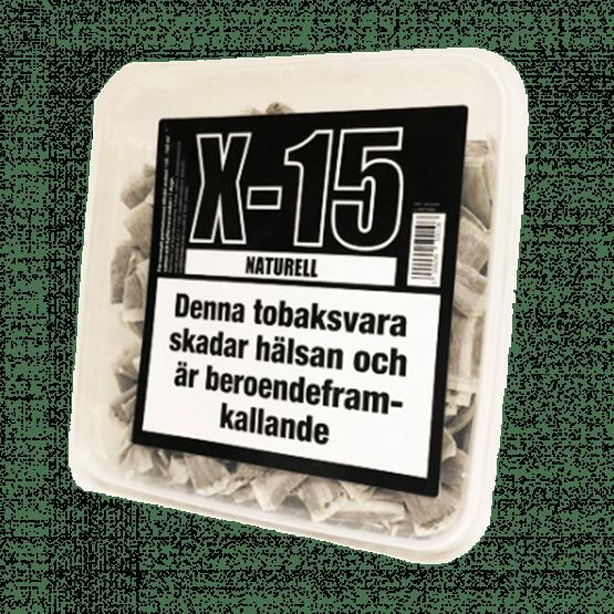 X-15 Portion Naturell Snussats