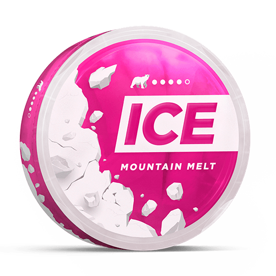 Ice Mountain Melt Slim Extra Strong All White Portion
