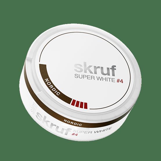 Skruf Super White Slim Nordic #4