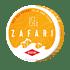 Zafari Red Sea Orange Slim All White Portion