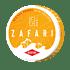 Zafari Red Sea Orange Strong All White Portion