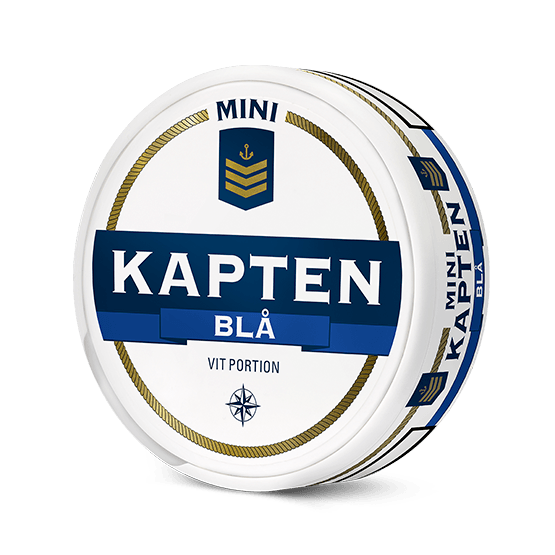 Kapten Blå Mini White Portion