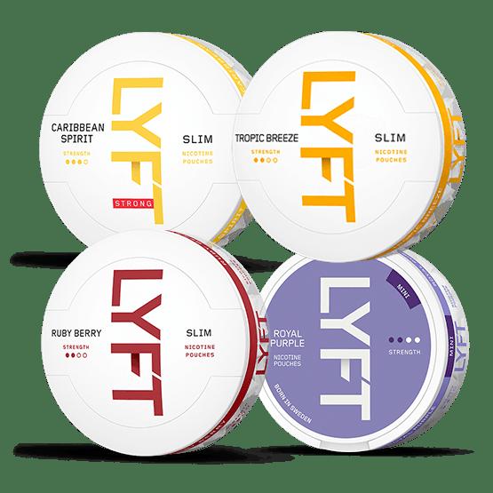 LYFT Fruity Mixpack