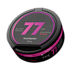 77 Raspberry Slim Extra Strong All White Portion