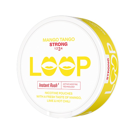 Loop Mango Tango Slim Extra Strong All White Portion
