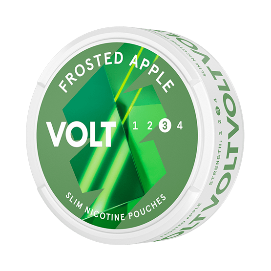 VOLT Frosted Apple Slim Strong All White Portion
