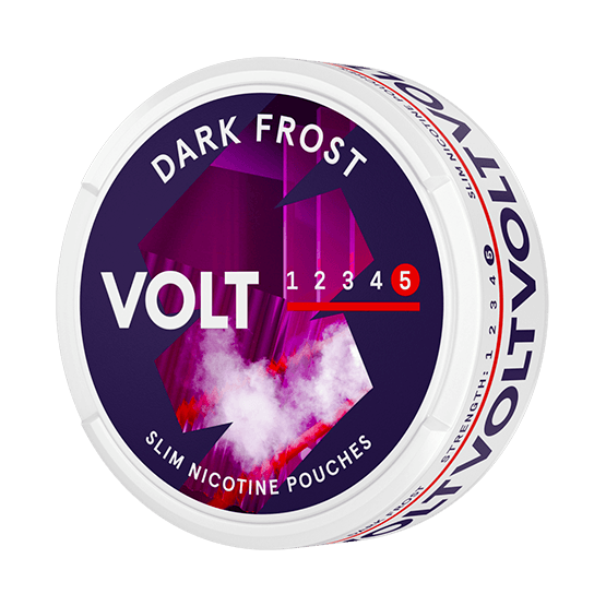 VOLT Dark Frost Slim Extra Strong All White Portion