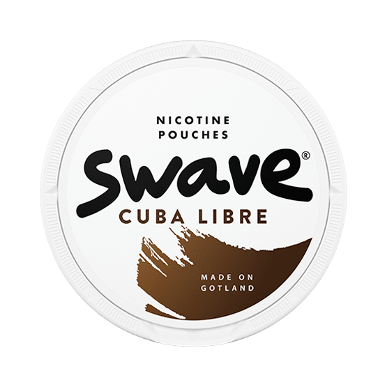 Swave Cuba Libre Slim Strong All White Portion
