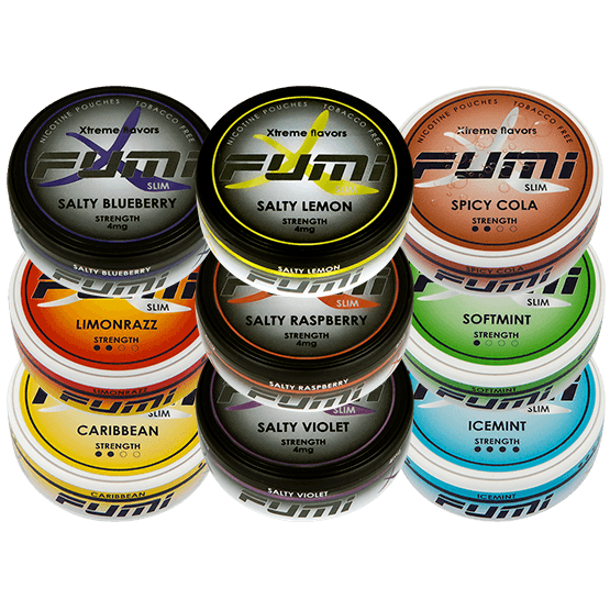 Fumi Multipack Slim All White Portion