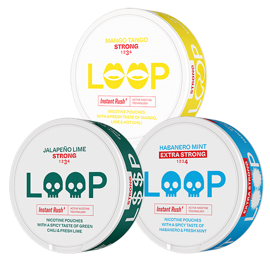 Loop Spicy Strong Mixpack
