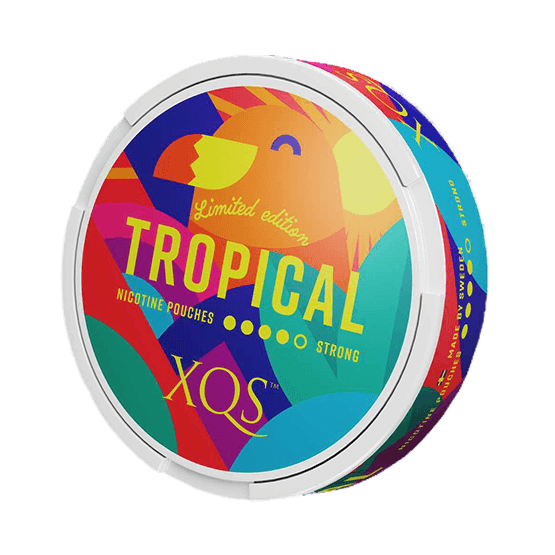 XQS Tropical Slim Extra Strong All White Portion