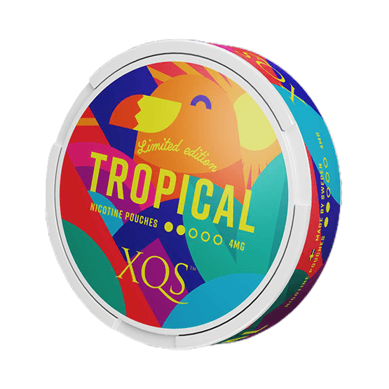 XQS Tropical Slim Normal All White Portion