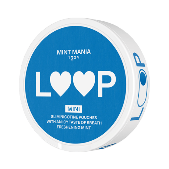 Loop Mint Mania Mini Strong All White Portion