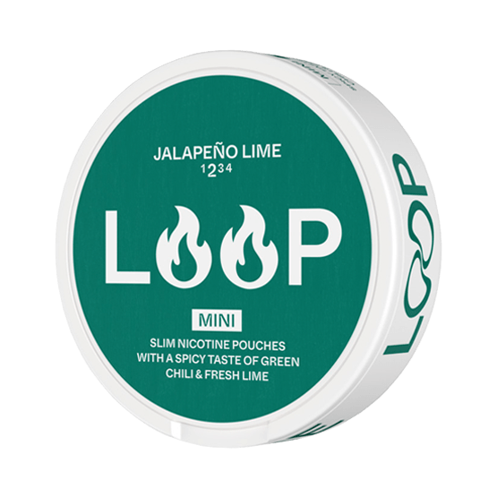Loop Jalapeno Lime Mini Strong All White Portion