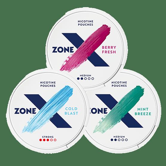 zoneX Mixpack All White