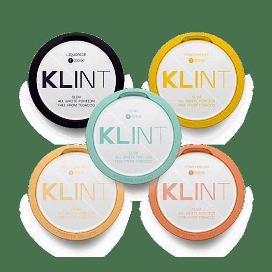 Klint Slim Styrka 1 Mixpack 5-pack