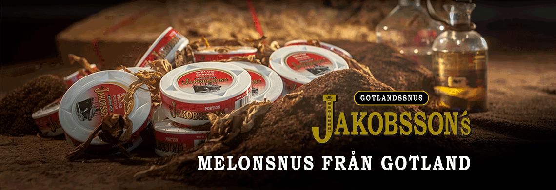 Jakobssons - Melonsnus från Gotland