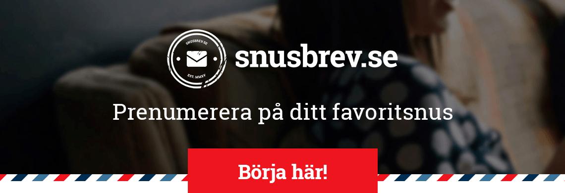 Snusbrev.se - Prenumerera på ditt favoritsnus