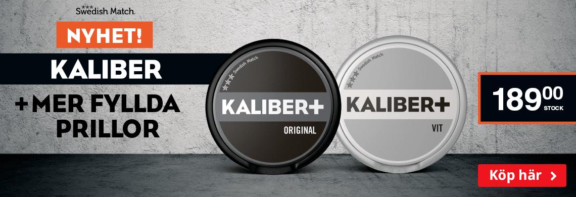 Kaliber +   Mer fyllda prillor, mer smak!